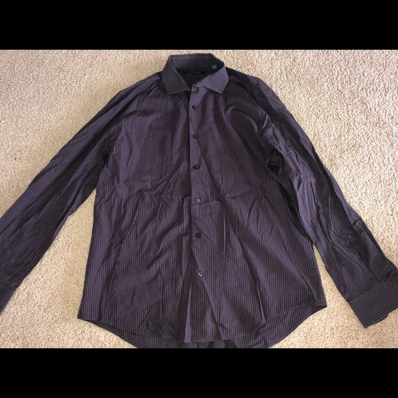 Perry Ellis Other - Purple perry Ellis button up